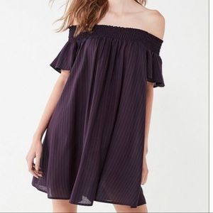 UO/Cooperative- NWT! Striped Flutter Dress- XS
